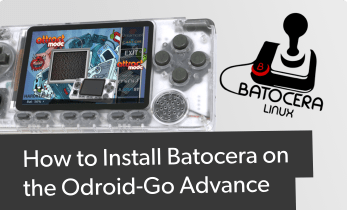 Comment installer Batocera sur Odroid Go Advance